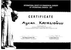 International Society of Craniofacial Surgery Toplantısı Brezilya 2007