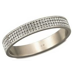 Swarovski New York Pave Clear Crystal Bangle 1110430
