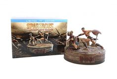 Snap Creative – Spartacus Collectible • Limited Edition Complete Series Blu-Ray Set