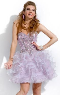 2014 Short Lilac Tailor Made Cocktail Prom Dress cheap online-MarieProm UK 3593939f1