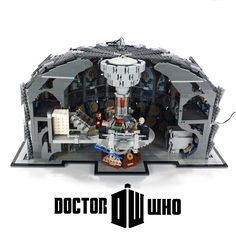 LEGO® Doctor Who: The Twelfth Doctor's TARDIS Inte… Take a look at a mixture of pins all to do with the topic of Doctor Who. Never before has there been a better time to Pin your favourite science fiction show Lego Tardis, Dalek, Lego Doctor Who, Doctor Who Series 9, Time Travel Machine, Lego Spaceship, David Tennant Doctor Who, Twelfth Doctor, Doctor Who Quotes