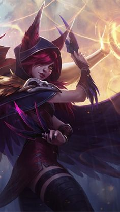 Xayah from League of Legends
