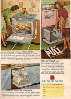 """""""The Kitchen of the Future"""" - 1940s-1960s"""