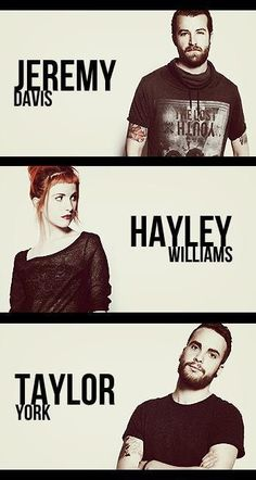 Paramore in 2013, for the new album!!!!