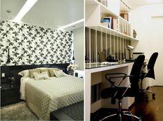 Decoracao para quarto de casal com papel de parede for Muebles casal valencia