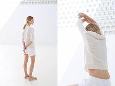Clear und Designed: Der White-Out Look wird diesen Sommer überstrahlen.