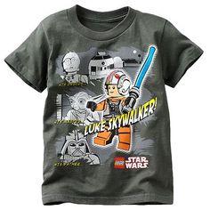 """""""Luke Skywalker"""" Boy's LEGO Star Wars t-shirt"""