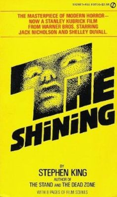 The Shining, Stephen King, book cover art