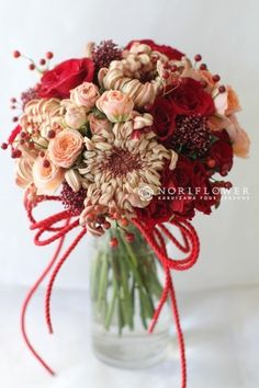 cocoa red bouquet