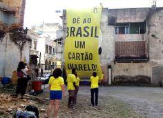 Do grupo da Anistia Internacional no RJ: Anti FIFA World Cup corruption mural project