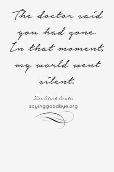 Stillborn. The most beautiful poem that describe how i