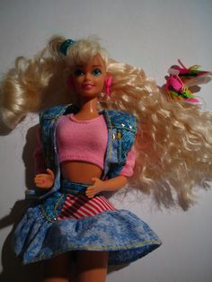 all american barbie 1990 - One of my first Barbies :)