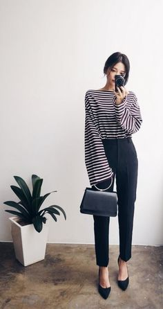 85 ways to wear business casuals and look non boring 00034 ~ Litledress - Outfits for Work - Business Outfits for Work Casual Work Outfits, Work Attire, Office Outfits, Work Casual, Casual Office Wear, Casual Wear, Classy Outfits, Chic Outfits, Summer Outfits