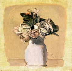 Giorgio Morandi - 1956 I like this work because the lines look almost fluid, yet it still looks realistic.