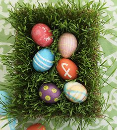 Traditional Easter egg dye? Think again.A fun, hands-on tissue-paper tinting technique...