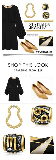 """""""#PolyPresents: Statement Jewelry"""" by alinepinkskirt on Polyvore featuring Chloé, Bling Jewelry, Jill Haber, contestentry and polyPresents"""