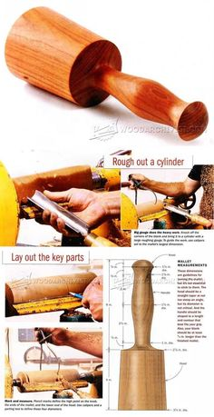 Making Carvers Mallet - Wood Carving Patterns and Techniques