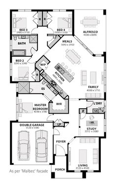 4308 Best Home Floor Plans Images In 2019 Dream House Plans Dream Home Plans Floor Plans