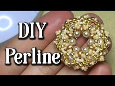 "DIY PERLINE ""Pretty Flower"". Tutorial per PRINCIPIANTI - YouTube"