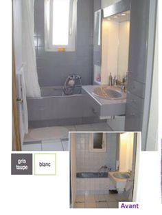 Relooking Salle De Bain Avant Aprés Bricolage Déco Comment - Peindre carreaux salle de bain