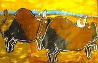 Buffalo Painting Art Project