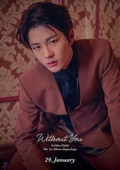 Golden Child Album Repackage [Without You] Kpop, Korea Boy, Facts For Kids, Woollim Entertainment, Pump It Up, Golden Child, Handsome Boys, K Idols, Jaehyun