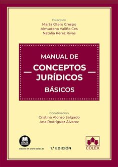 Manual de conceptos jurídicos básicos Colex, 2021 Study Techniques, Career Advice, Concept