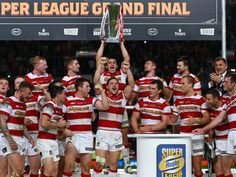 Super League Grand Final: Wigan Warriors grim and grand in record fightback against Warrington Wolves Warrington Wolves, Manchester England, Rugby League, World Cup, Cheerleading, Comebacks, Finals, Warriors, Tennis