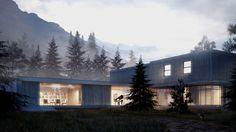 Dağ Evi Çalışması – 3D Mimari Görselleştirme