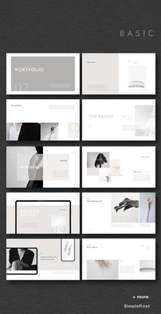 & Minimal Presentation Template ARTICT BW Photography Portfolio by flowless on Simple & Minimal PowerPoint, Keynote Template Black & White Presentation PowerPoint Template MURO - PowerPoint Template, NIKOLAY Photography Portfolio , Zero&MinPT Portfolio Design Layouts, Layout Design, Portfolio D'architecture, Mise En Page Portfolio, Ppt Design, Architecture Portfolio Template, Template Portfolio, Beauty Portfolio Ideas, Photography Portfolio Layout