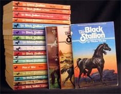 Complete set of Walter Farley's Black Stallion Books which I had when I was younger and fuelled by passion for horses