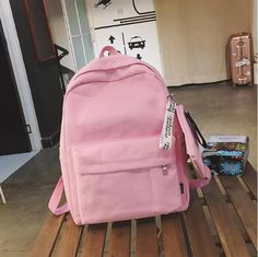 2018 Women Canvas Backpacks Women Fashion School Backpacks for Teenage Girls 2 Pcs/se Rucksack Bagpack Female Schoolbag From Touchy Style Outfit Accessories Cool Backpacks For Girls, Backpacks For College Girl, Cute Backpacks For School, Trendy Backpacks, Girl Backpacks, Rottweiler, Teenager Fashion Trends, Under Armour, Sport Outfit