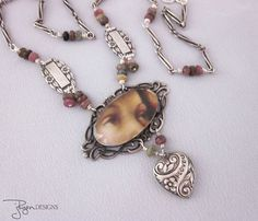 Handmade Artisan Jewelry Artisan Necklace by jryendesigns on Etsy