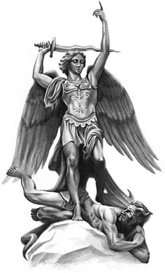 Angel Michael Defeats Lucifer
