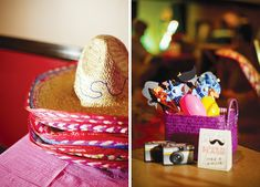 Colorful & Modern Fiesta Engagement Party - party favors.