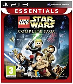 Lego Star Wars The Complete Saga PS3 Sony PlayStation 3 Brand New Sealed >>> Want additional info? Click on the image. Note:It is Affiliate Link to Amazon.