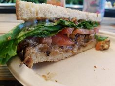 This yummy vegan sandwich is from Organix. Check out Grubbing With Jess for more!