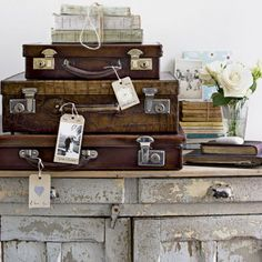 Old Suitcases <3