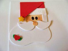Eva Kağıdından Noel Baba Magnet Yap Eva kağıdından noel baba şeklinde magnet veya kapı süsü olarak kullanabileceğiniz çok güzel süsler yapabilirsiniz. Resimli anlatımdan yararlanabilir ve sizde kol… Easy Christmas Ornaments, Simple Christmas, Christmas Crafts, Christmas Decorations, Xmas, Christmas Tree, 3 Year Old Activities, 3d Origami, Cute Pins