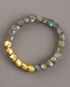 Tai gold & labradorite... love it!