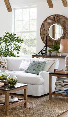 Rustic/Eclectic Living Room