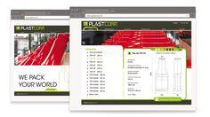 Web design - Site web PLASTCORP
