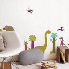Muursticker Dinosaurussen