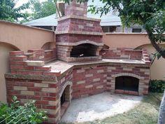 GRATARE SI CUPTOARE RUSTICE DE GRADINA - Comunitate - Google+ Bbq Area, Backyard Bbq, My Dream, Mansions, House Styles, Cyprus, Estate, Outdoor, Pizza