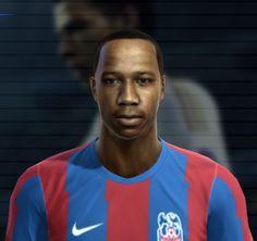 Clyne face for Pro Evolution Soccer 2012