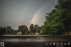 Double-Rainbow-Lake   by RAPH - Rapheal Wright