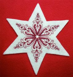 Embroidered Ornaments are a Cut Above With AccuQuilt GO! Dies