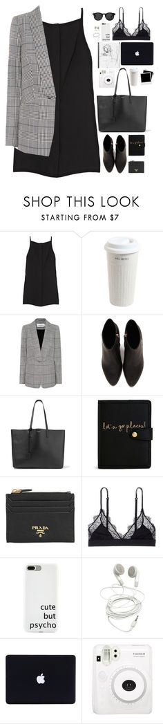 """Untitled #2988"" by wtf-towear ❤ liked on Polyvore featuring Opening Ceremony, Mr. Coffee, self-portrait, Alexander Wang, Yves Saint Laurent, Vera Bradley, Prada, LoveStories, Fuji and Polaroid"
