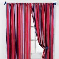 Red and Blue Hero Curtains
