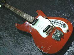 Hagstrom /Series I 60's RED